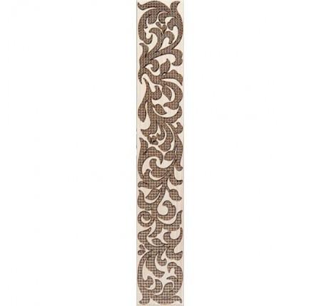 Бордюр вертикальный InterCerama Venge коричневый 011 5,4х35 (шт.)