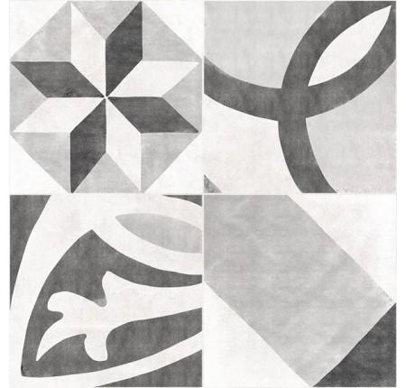 Плитка напольная Cersanit Henley Grey Pattern 29,8x29,8 (м.кв)