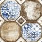 Плитка напольная Керамин Брюгге 3Д тип 1 40x40 (м.кв)