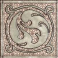 Декор напольный Керамин Раполано 9,8x9,8 (шт)
