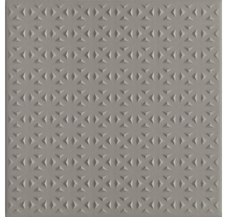 Плитка напольная Paradyz Bazo Grys Gres Monokolor Struktura 19,8x19,8 (м.кв)