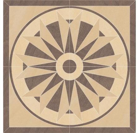 Декор напольный Paradyz Arkesia Mocca Rozeta 90x90 (шт)