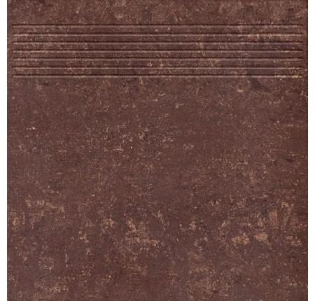 Ступень Paradyz Mistral Brown Stopnica Prosta Mat. 29,8x29,8 (м.кв)