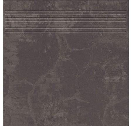Ступень Paradyz Mistral Nero Stopnica Prosta Mat. 29,8x29,8 (м.кв)