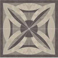 Декор напольный Paradyz Mistral Grys Rozeta 120x120 (шт)