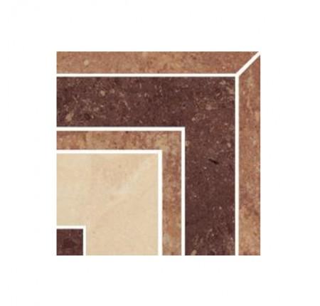 Декор напольный Paradyz Mistral Beige Naroznik Poler 9,8x9,8 (шт)
