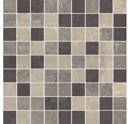 Мозаика Paradyz Mistral Grys Mozaika Cieta Mix Mat. 30x30 (шт)