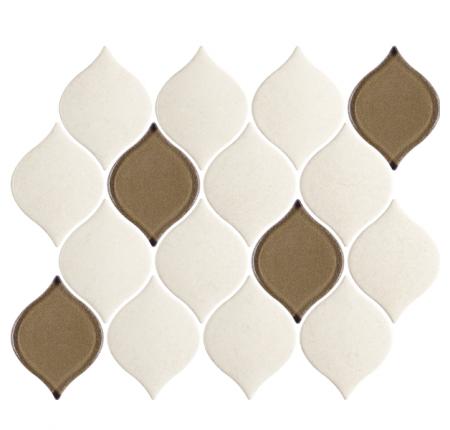 Мозаика Paradyz Mistysand Crema Mozaika Prasowana Arabeska Mix 20,2x26,5 (шт)