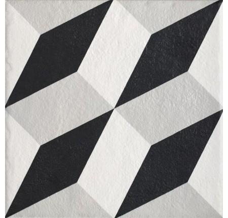 Плитка настенная Paradyz Modern Gres Szkl. Struktura Motyw A 19,8x19,8 (м.кв)