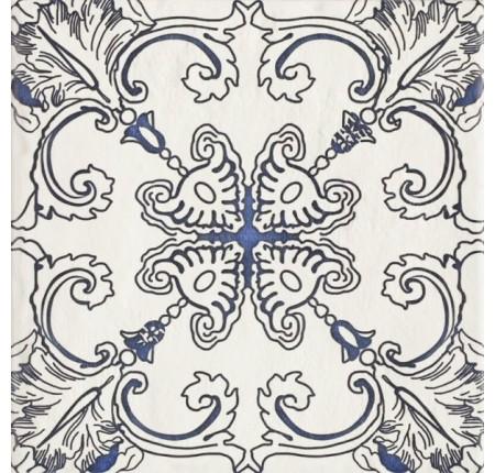 Плитка настенная Paradyz Sevilla Azul Gres Szkl. Struktura Dekor A 19,8x19,8 (м.кв)