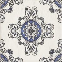 Плитка настенная Paradyz Sevilla Azul Gres Szkl. Struktura Dekor B 19,8x19,8 (м.кв)