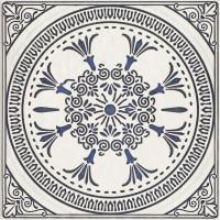 Плитка настенная Paradyz Sevilla Azul Gres Szkl. Struktura Dekor D 19,8x19,8 (м.кв)