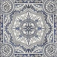Плитка настенная Paradyz Sevilla Azul Gres Szkl. Struktura Dekor E 19,8x19,8 (м.кв)