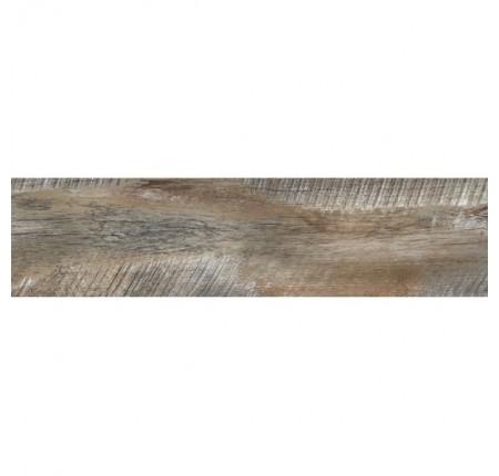 Плитка напольная InterCerama Brand темно-коричневая 032 15х60 (м.кв)