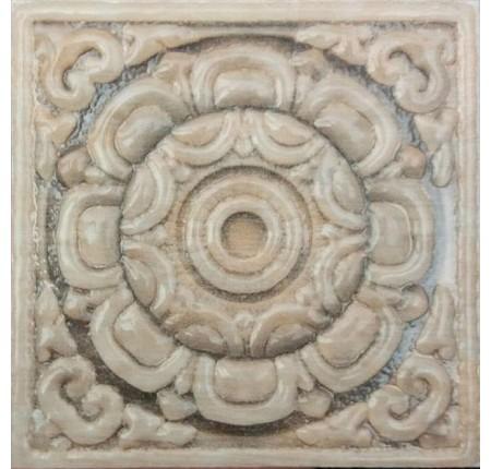 Декор напольный InterCerama Urban коричневая 031 6,5х6,5 (шт)