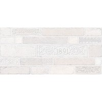 Декор настенный InterCerama Brick серый 071 23х50 (шт)