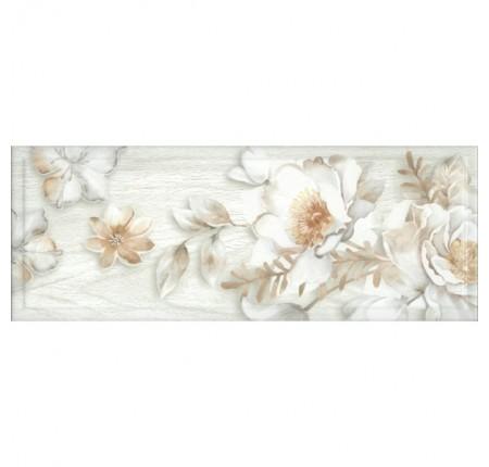 Декор настенный InterCerama Blanco серый 071 15х40 (шт)