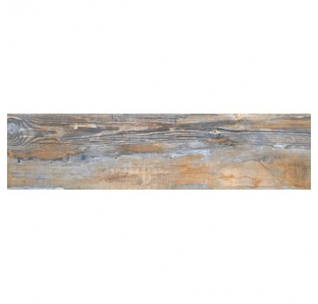 Плитка напольная InterCerama Aston темно-коричневая 032 15х60 (м.кв)