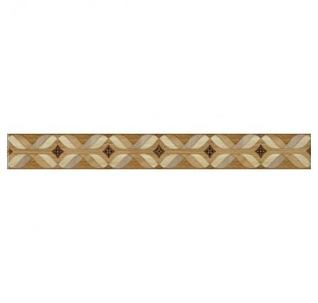 Бордюр вертикальный InterCerama Arce бежевый 021 7х60 (шт)
