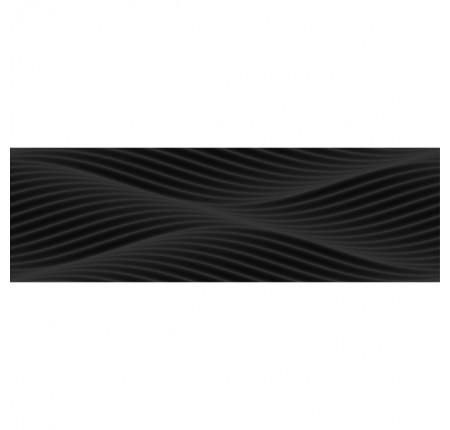 Плитка настенная InterCerama Black White 082/Р 25х80 (м.кв)