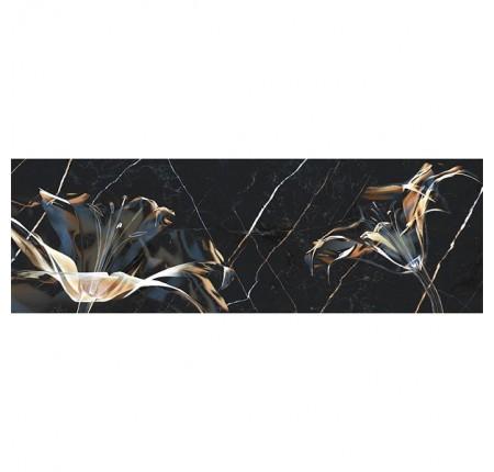Декор настенный InterCerama Dark Marble 082 30х90 (шт)