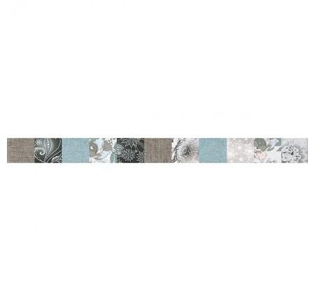Бордюр вертикальный InterCerama Lurex 021 бежевый 5,2х60 (шт)