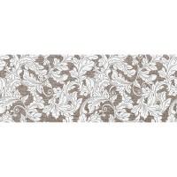 Плитка настенная InterCerama Lurex темно-коричневая 032-1 23х60 (м.кв)