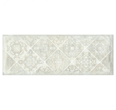 Декор настенный InterCerama Portland серый 071 15х40 (шт)