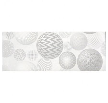 Плитка настенная InterCerama Palmira cветло-серый 071-1 рисунок 23х60 (м.кв)