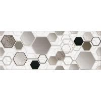 Декор настенный InterCerama Techno 071 серый 23х60 (шт)