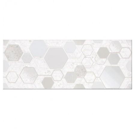 Плитка настенная InterCerama Techno светло-серый 071-1 рисунок 23х60 (м.кв)