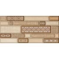 Декор настенный InterCerama Textile коричневый 031 23х50 (шт)
