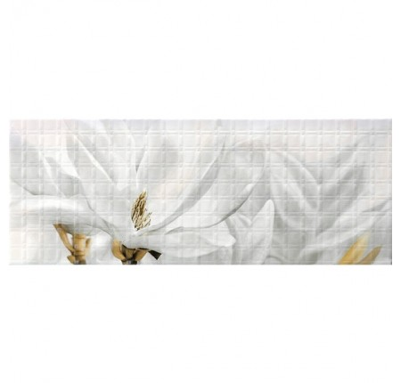 Декор настенный InterCerama Unico белый 061-1 23х60 (шт)