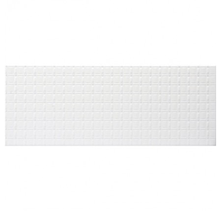 Плитка настенная InterCerama Unico белая 061 23х60 (м.кв)