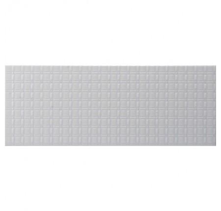 Плитка настенная InterCerama Unico серая 072 23х60 (м.кв)