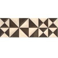 Декор настенный Opoczno Geometrica Beige Inserto Geo 25x75 (шт)