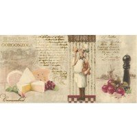 Настенный декор Opoczno Old Provence Inserto Chees 29,7x60 (шт)