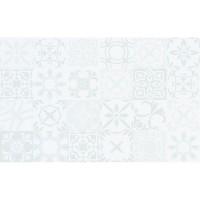 Плитка настенная Cersanit Sansa White Pattern Glossy 25x40 (м.кв)