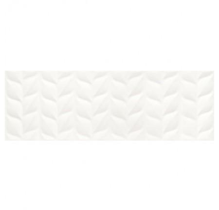 Плитка настенная Paradyz Elia Bianco Struktura A Rekt. 25x75 (м.кв)