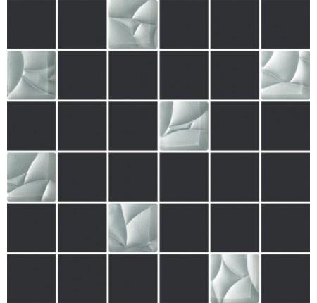 Мозаика Paradyz Esten Grafit/Silver Mozaika 29,8x29,8 (шт)