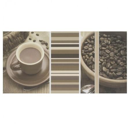 Декор настенный Paradyz Vivida Bianco Inserto Cafe A 30x60 (шт)
