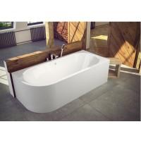 Ванна асимметричная Besco Avita 150x75 L/R