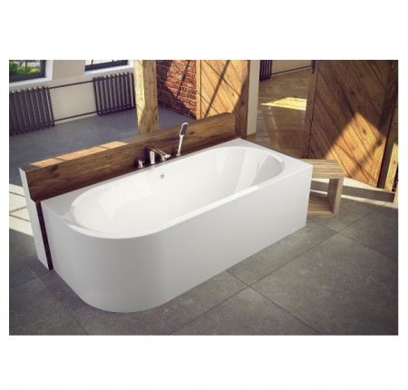 Ванна асимметричная Besco Avita 170x75 L/R