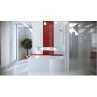 Ванна асимметричная Besco Inspiro 150x70 L/R