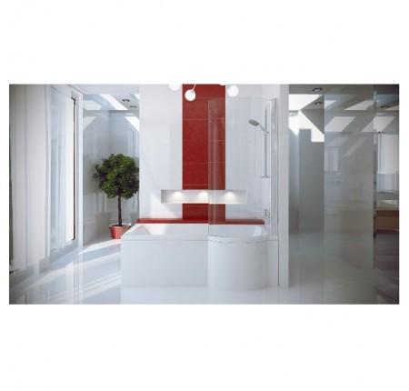 Ванна асимметричная Besco Inspiro 160x70 L/R