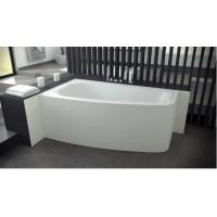 Ванна асимметричная Besco Luna 150x80 L/R