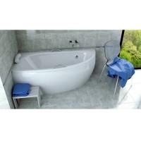 Ванна асимметричная Besco Milena 150x70 L/R