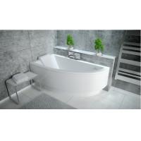Ванна асимметричная Besco Praktika 140x70 L/R