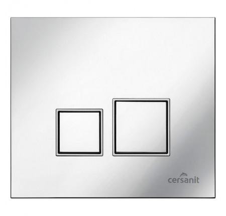 Кнопка смыва Cersanit Target хром