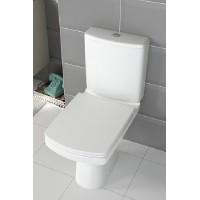 Унитаз-компакт напольный Cersanit Easy Cleanon с сиденьем дюропласт soft-close